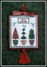 CHRISTMAS TREE FARM SAMPLER-CROSS STITCH-MILADYS NEEDLE