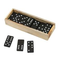 28pcs/set Wooden Dominoes Traditional Board Funny Game Toy Children Gifts BS
