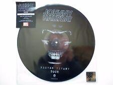Vinyl JOHNNY HALLYDAY - Rester Vivant Tour (Neuf sous blister)
