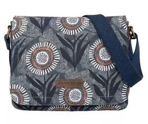 Brakeburn Martha Blue Slate Ladies Saddle Bag NEW