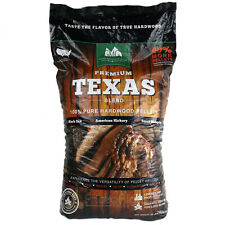 Green Mountain Wood Cooking Pellets Texas Blend 28 lb Black Oak Hickory Mesquite