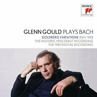 Glenn Gould - Glenn Gould Plays Bach: Goldberg Variations Bwv 988 - [CD]