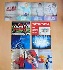 11 Postkarten RTL Alles,was zählt, Ich bin ein Star, DSchungelcamp, DSDS Karten
