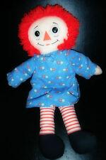 Vintage Raggedy Ann Rag Doll (18 INCHES) Made by Playskool 1987