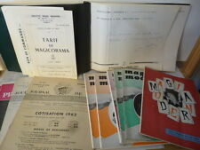 LOT MAGIE : Catalogue MAGICORAMA 1967, Numéroté, dedicacé Valton+ 10 revues