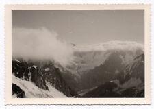 PHOTO ANCIENNE Chaîne des Aiguilles Alpes 1961 Paysage de montagne Chamonix