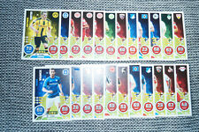 Match Attax Trading Cards 2016 / 2017 23 Karten BVB Ginter Hertha Brooks HSV