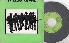 """LA BANDA DEL TRENO Sonno Carta/Ritorno In La Al mattino presto,SG 7"""" SPAIN 1983"""