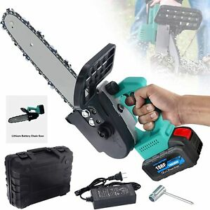 Cordless Electric Power Saw Chainsaw Small Handheld Cutter for Cutting Wood Tree