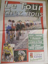 VELO : TOUR DE FRANCE : LE TOUR CHEZ NOUS - 03/07/2001 -