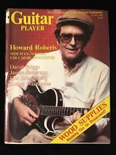 GUITAR PLAYER MAGAZINE-Howard Roberts-David Briggs-James Jamerson-1979
