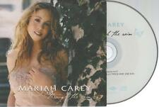 Mariah Carey Through The Rain CD SINGLE france french card sleeve