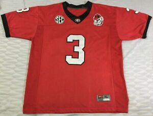 Georgia Bulldogs Todd Gurley #3 College-NCAA Football Nike Jersey SizeXL
