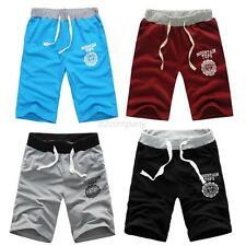 Hot Mens Sport Running Gym Cotton Shorts Pants Short Trousers Casual Half Pants