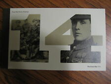 DY11  PRESTIGE STAMPS BOOKLET THE GREAT WAR 1914