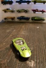 1968 Mattel HOT WHEELS REDLINE Light APPLE GREEN SILHOUETTE - SWEET 16