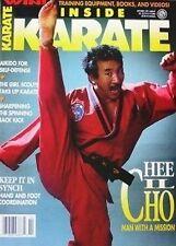 3/91 INSIDE KARATE BRUCE LEE JERRY BEASLEY BLACK BELT KUNG FU MARTIAL ARTS