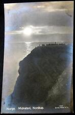 Norway ~ Norge ~ 1920's Midnatsol Nordkap ~ Real Photo Pc Rppc