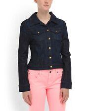 CHRISTOPHER BLUE Sharlene Crop Jacket Indigo Denim NWT!! A MUST HAVE!!