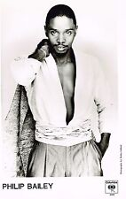 Philip Bailey - First Solo Artist Publicity Photo (plus Bonus Photo) - 1983/84