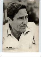 DDR Starfoto Fernsehen Film Schauspieler Actor Echtfoto 1969 RAF VALLONE aus USA