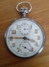 Taschenuhr Pocket Watch mit Wecker Alpina (Angelus kal. 125) Taschenwecker