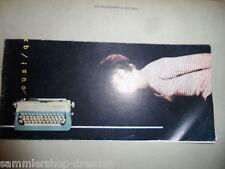 19547 SCHREIBMASCHINE Universal Kleinschreibmaschine Bedienungsanweisung 1964