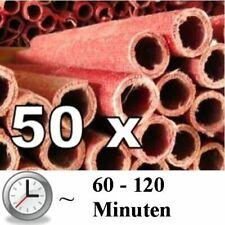 50x Wachsfackeln Fackeln Gartenfackel Wachsfackel Fackel - verschiedenen Größen