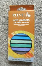Reeves Soft Pastels - 12 Colours - Unused