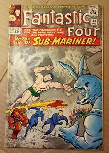 Fantastic Four #33 (1962) 1st Appearance Attuma