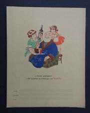 Protège cahier RHUM NEGRITA Grand-Père grandfather copybook cover Wachbuch