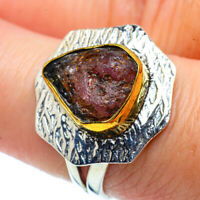 Pink Tourmaline Copper 925 Sterling Silver Ring Size 8 Ana Co Jewelry R38639F