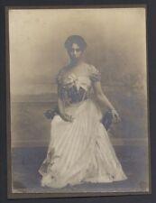 Antique Photo of Princess Beatrice of Saxe-Coburg & Gotha Princess Alfonso Spain