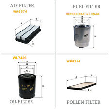 WIX AIR POLLEN OIL & FUEL Filter Service Kit WA9574,WP9244,WL7426,WF8361