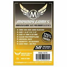 Mayday Premium Mini USA Sleeves 41 X 63 MM 50ct Dark Yellow Arkham Horror