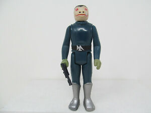 Blue Snaggletooth repro vintage-style Star Wars Stan Solo figure w/ weapon