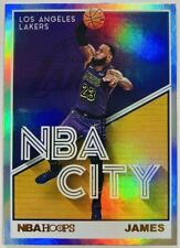 2019-20 NBA Hoops LEBRON JAMES Holo Foil NBA City #27 LAKERS