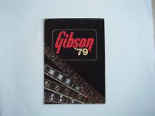 Gibson 1979  Catalog original