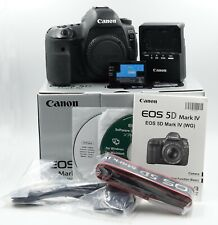 Canon EOS 5D Mark IV 30.4MP DSLR Camera Body - Shutter Count 7704