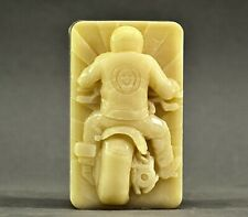 BIKER SILICONE MOLD SOAP resin polymer clay fondant sugarcraft harley motorcycle