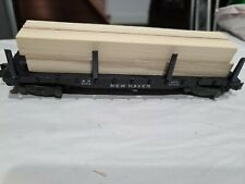 American Flyer #24516 New Haven Flatcar with Wood Load, Estate Lot # 381