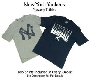 New York Yankees Men's Big &Tall 2 SHIRTS! *MYSTERY SHIRT* MLB