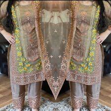 Women Clothes Pakistani Salwar Kameez Ready Made Designer Asian Chiffon Organza