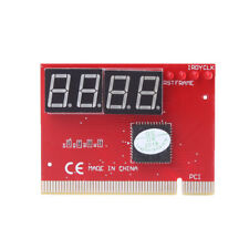 Computer PCI POST Card Motherboard LED 4-Digit Diagnostic Test PC Analyzer