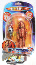 Dr Doctor Who Rare Fourth 4th Doctor's Zygon & Giant Robot Head K1 ACTION FIGURE