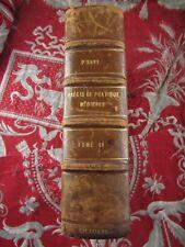 ancien livre 1922 precis de pratique medicale medecine savy tome II
