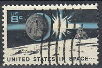 USA Briefmarke gestempelt 8c United States in Space / 2070