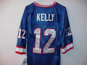 JIM KELLY BUFFALO BILLS JERSEY OLD STOCK WITH TAGS