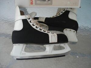 Schlittschuhe , Eishockey Gr. 44, schwarz -weiß