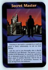 Illuminati New World Order INWO Assassins Card Game NWO Secret Master Ultra Rare